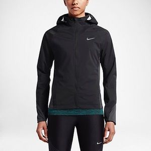 Nike shield running jacket - large